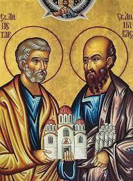 Акатист Светим апостолима Петру и Павлу